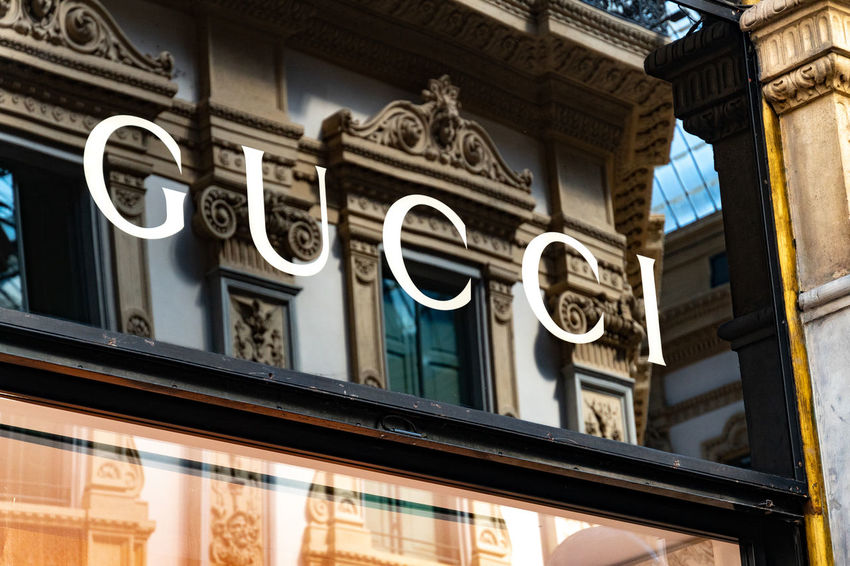 Gucci boutique. Gucci is an Italian luxury brand of fashion and leather goods, part of the Gucci Group, which is owned by the French holding company Kering Boutique Clothes Store Fashion GUCCI Gucci♡ Shopping Shopping ♡ Architecture Brand Building Exterior Clothes Shop Clothes Shopping Clothing Shop Fashionable Influencer Luxury Mall No People Outdoors Outlet Shop Shopaholic Shopping Mall Sign Store