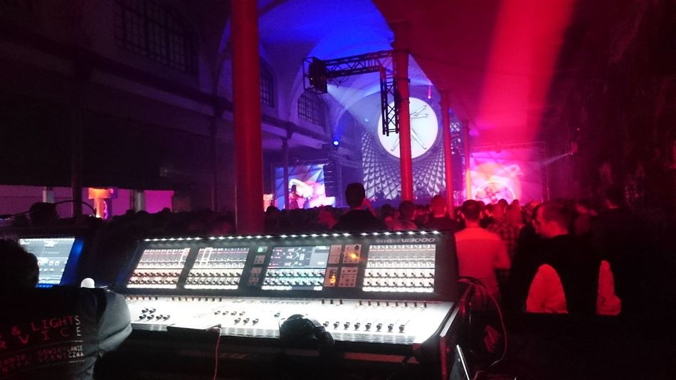 Arts Culture And Entertainment Dj Illuminated Indoors  Large Group Of People Lights Lights And Shadows Music Night Nightlife Party People Performance Sound Desk