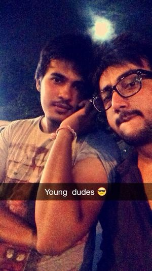 Young and wild and free Dudes Friends Hangout!