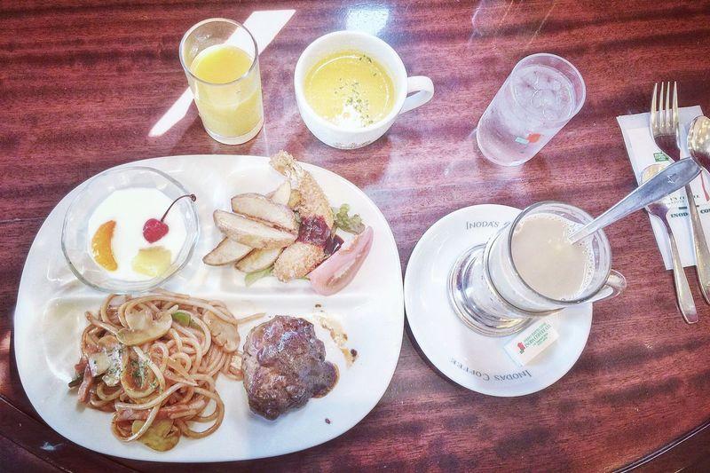 Inoda Coffee Cafe Lunch Yummy Fujifilm XQ1 Tokyo Japan