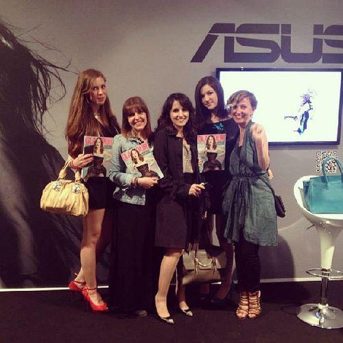 Belle blogger al Glamourliveshow per @asusitalia @bloggirl_it