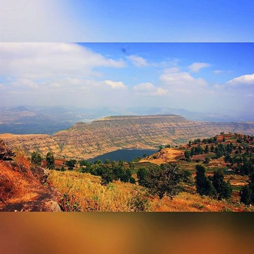 Nature is like Levi's jeans , it never goes out of style. Naturelover Beautiful Thisplace Viewfromthetop Lake Bluesky Bliss Ahd Goa India Mytravelgram