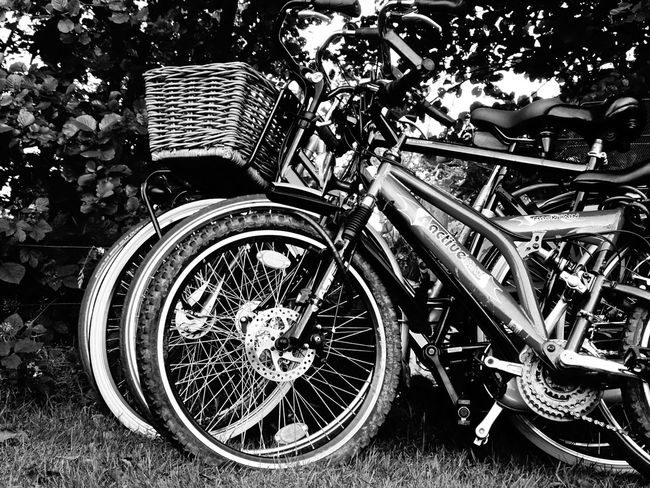 Bike On Your Bike Blacckandwhite Black And White