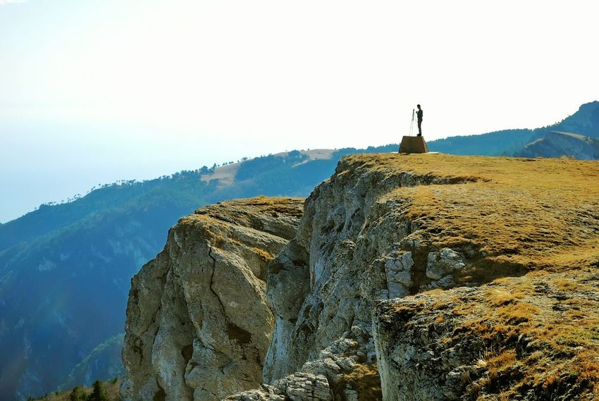 Crimea, Ukraine Mountain Range Mountains And Sky Autumn Colors Mountain View Calmness Top Perspective Tranquility Outdoors Travel Destinations Landscape Beauty In Nature People Nature Scenics Photographer Aerial View Mountain Silhouette Top View Day Adult Adults Only Beauty In Nature Rock Formation