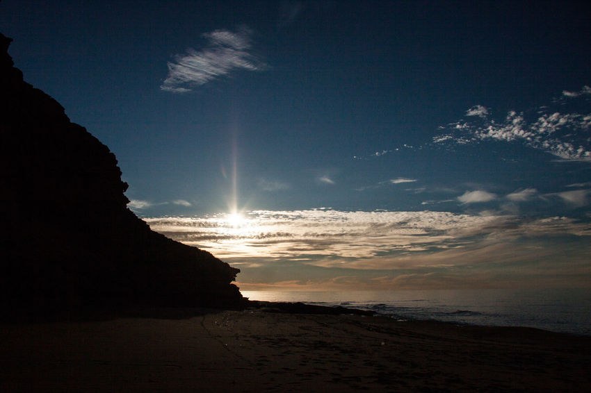 Against The Light Against The Sky Beach Beachphotography Beauty In Nature Clouds Clouds Collection Costa Verde Horizon Over Water Landscape Nature Night No People Outdoors Rock - Object Sardegna Scenics Sea Sky Stillness Sun Sunset Sunset_collection Sunsets Water