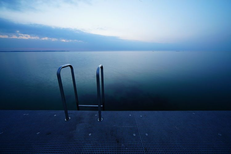 Water Sea No People Blue Horizon Over Water Tranquility Scenics Day Outdoors Nature Sky