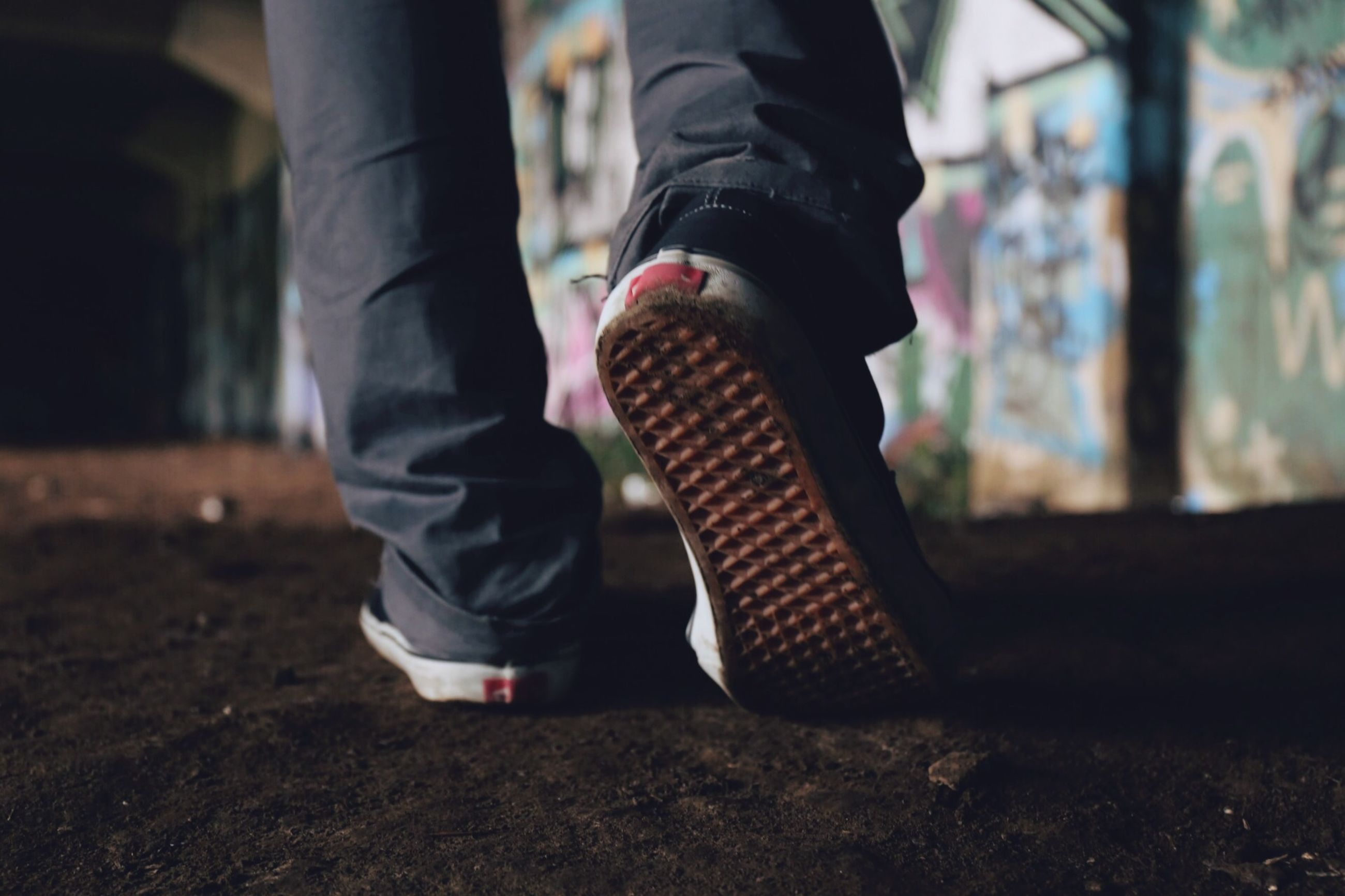 low section, person, lifestyles, shoe, leisure activity, casual clothing, standing, focus on foreground, men, childhood, jeans, selective focus, day, sunlight, footwear, outdoors, human foot