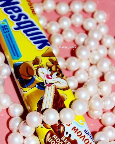 Nesquik Nesquik♡ нэсквик Chokolate шоколад шоколадка шоколадная зефирный зефир Pink Lovepink Pinkandwhite Lightpink