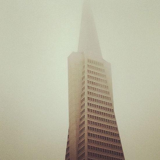 I <3 my city. San Francisco Transamerica Pyramid