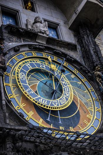 Art Astronomicalclock Circle Clock Czech No People Old Prague Tourist