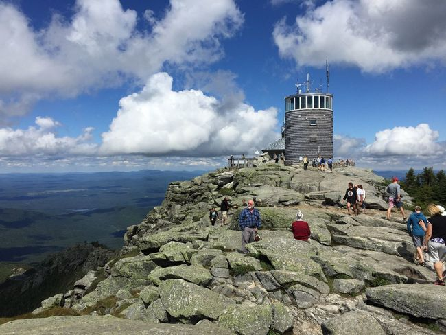 Adirondack Mountains Lake Placid Whiteface Mountain Top Mountain View Cloud - Sky Building Exterior Sky Architecture Travel Built Structure Real People Lifestyles Large Group Of People Leisure Activity Travel Destinations Outdoors Women Tourist Day Nature Men Vacations Water Visiting