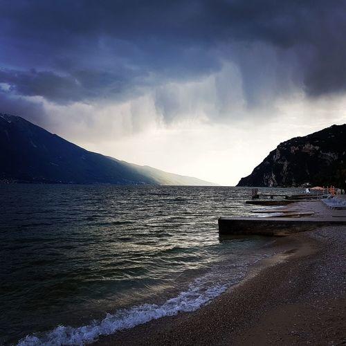 Water Sea Landscape Cloud - Sky Italy Limone Sul Garda