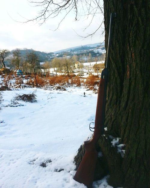 Winter 2K15 Memories House White Neve Sneg Zima!!😍 Freddo Inverno Gun Fucile Puska
