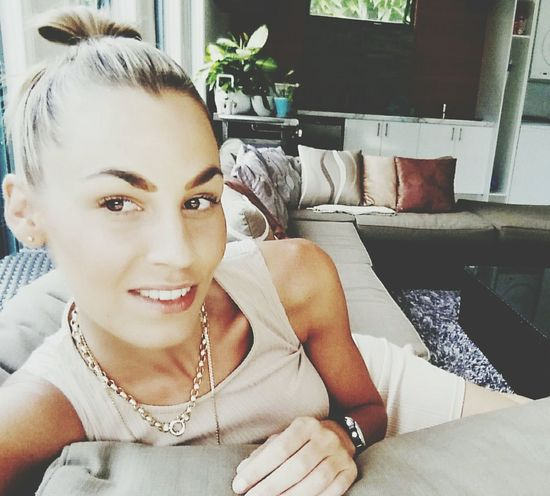 Pretty♡ Pretty Girl relaxing after a hard days work Blonde Girl Blonde Hair Blondes Blonde Makemefamous Makemeamodel