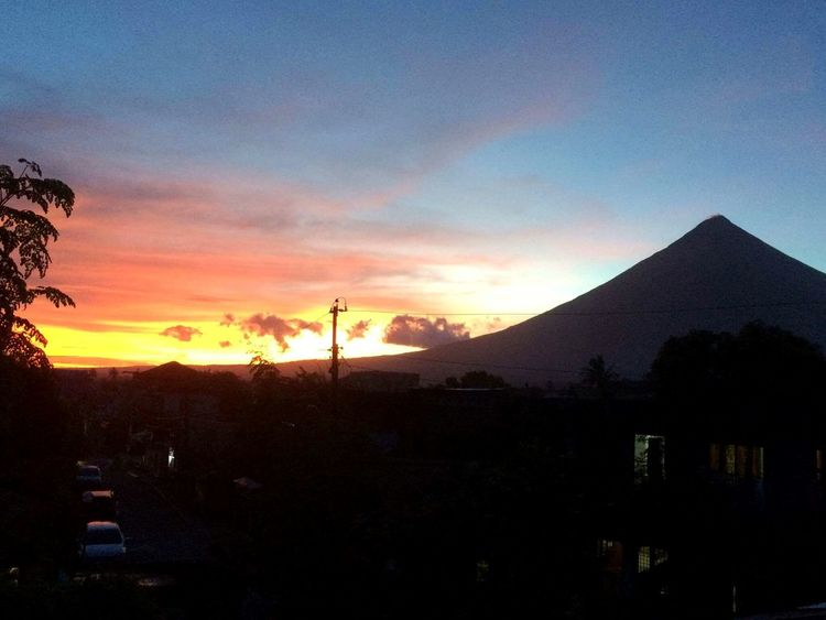 Mt. Mayon Bicol, Philippines Nature Sky Beauty In Nature Scenics My View