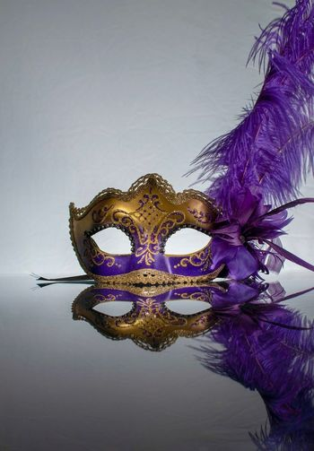 Masquerade ball Disguise Mask - Disguise Mask Masquerade Ball Masquerade Mask Water Waterfront Copy Space Nature Creativity Studio Shot Indoors  Multi Colored