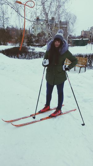 Relaxing Hello World Hey✌ Ski-track Russia I'm Skier I'm Sexy And I Know It! Ski Good Weather Good Mood :)