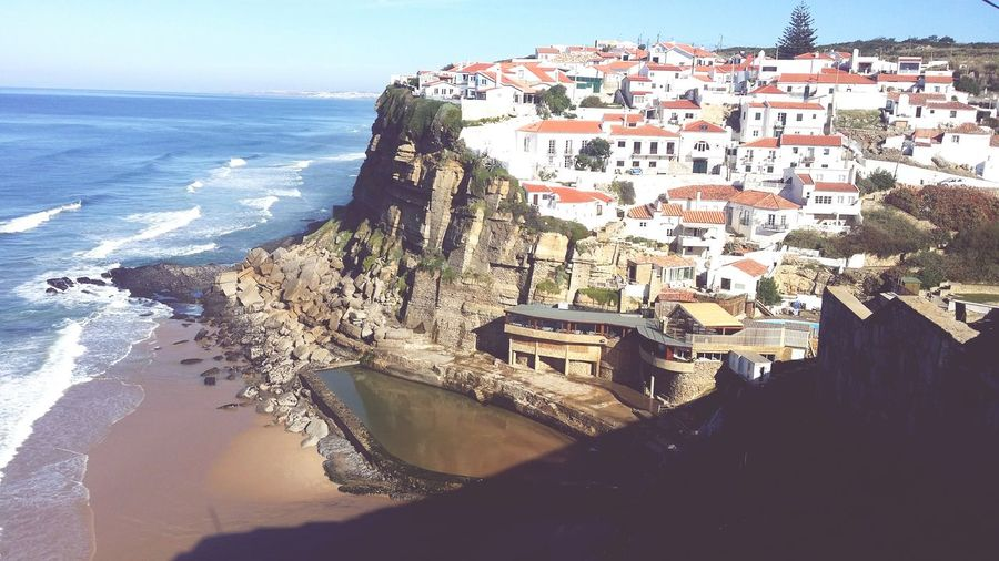 Azenhas do Mar Portuguesevillage Portuguese Streetphotography Portuguese Houses Photos Around You