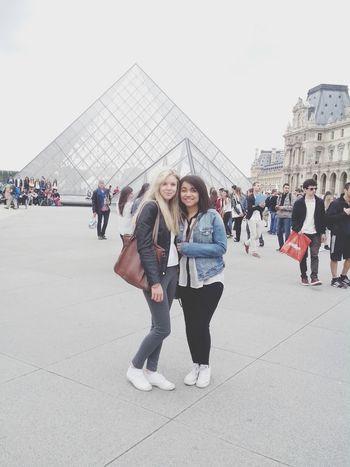 with lexou in Paris Louvre Paris Amie Week End