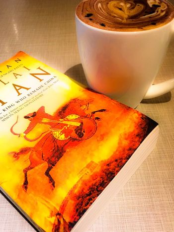 Read Reading Reading A Book Hanging Out Relaxing Weekend Hot Chocolate Bliss Nerdgirlproblems Nerdy Book Bookworm Kublaikhan Mongol History I am a big fan of the Mongol kings. Yes they were violent and brutal, but they are fascinating!