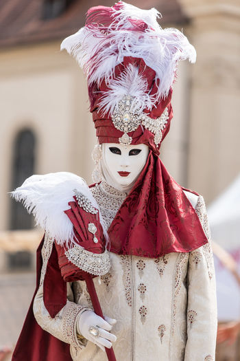venetian carnival EyeEm Selects Halloween Disguise Spooky Portrait Tradition Men Red Mask - Disguise Costume Close-up Venetian Mask Carnival - Celebration Event Traveling Carnival Traditional Dancing Mask Carnival Stage Costume Vampire Period Costume