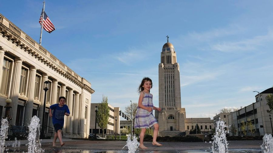 Visual Journal May 2018 Lincoln, Nebraska 35mm Camera A Day In The Life Camera Work EyeEm Best Shots FUJIFILM X100S Fountain Getty Images Lincoln, Nebraska MidWest Nebraska Photo Essay State Capitol State Capitol Building Visual Journal Always Taking Photos Architectural Column Architecture Building Building Exterior Built Structure Day Downtown District Eye For Photography Flag Fujifilm Government History Kids Having Fun Kidsphotography Nature On The Road Outdoors People Photo Diary Real People S.ramos May 2018 Sky Standing The Past Tourism Travel Travel Destinations Women Young Adult Young Women