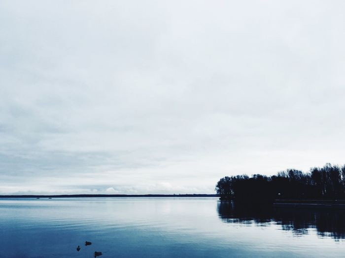 Water Tranquility Sky Scenics Lake Tranquil Scene Beauty In Nature Nature Reflection Cloud - Sky Outdoors No People Day Tree
