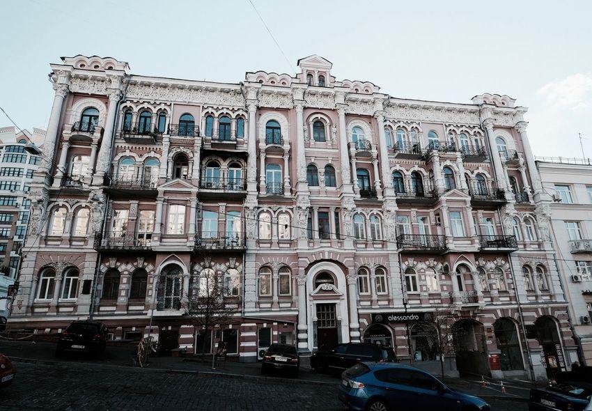 Kiev Ukraine Architecture Building Building Exterior Built Structure Façade Gothic Style Low Angle View Ornate Street Window