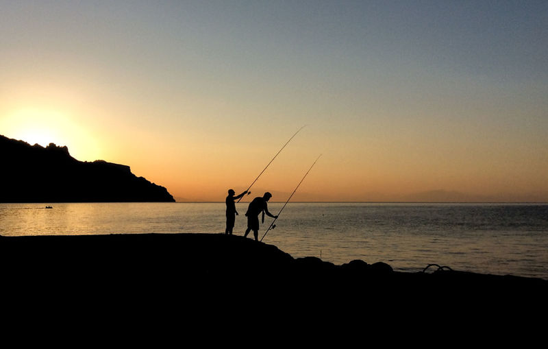 Morning fishing in Atrani, Amalfi coast, Italy Sea And Sky Italy Atrani Amalfi Coast Holiday Summer Sunrise