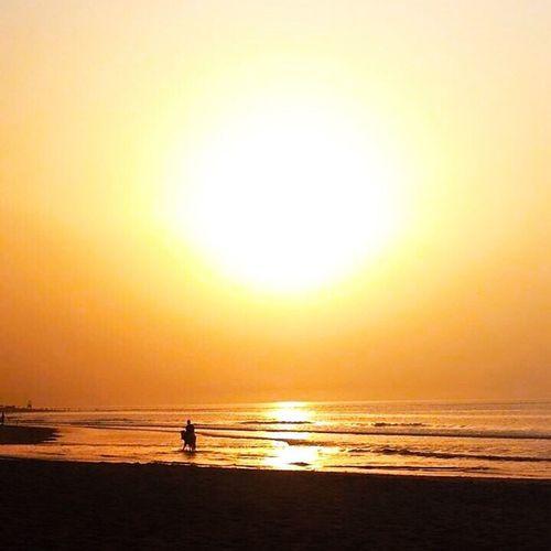 Sunset #sun #clouds #skylovers #sky #nature #beautifulinnature #naturalbeauty #photography #landscape Gambia  Travel Photography