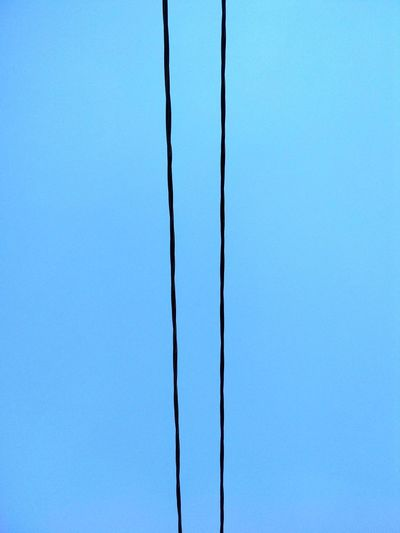 Backgrounds Blue Textured  Close-up Sky Power Line  Power Cable Electricity  Cable Electrical Grid LINE Wire Power Supply Telephone Line