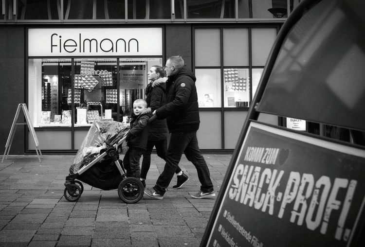 Stroll-Profi - MAinLoveWithLife and Little Boy on Buggy Strolling Strolling Around Town Street Fun Street Photography Streetphoto Street Life Mono Monochrome Monochromatic Black And White Bnw Bnw_collection Bnw_life Bnw_society Children Children Photography Childhood Childhood Memories Decisive Moment How I See People