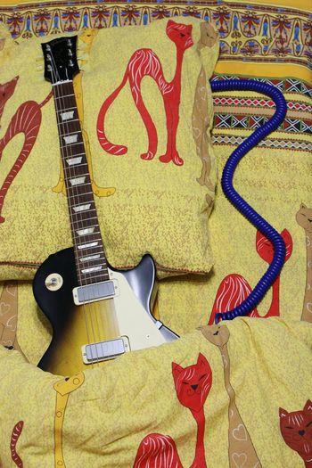 Guitar Noedit Nofilter Sleep Time Sleeping Ordinary Things EyeEm Gallery My Darling Taking Photos