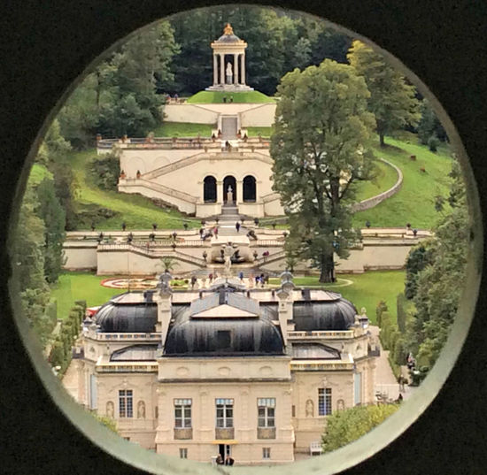 Architecture Birds Eye View Built Structure Castle Day Lawn Nature No People Shapes And Forms