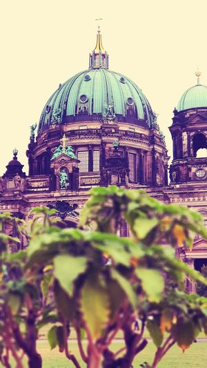 Berlin cathedral City Dome Sky Built Structure Catholicism Cathedral Religion Place Of Worship Buddhist Temple Steeple Cross