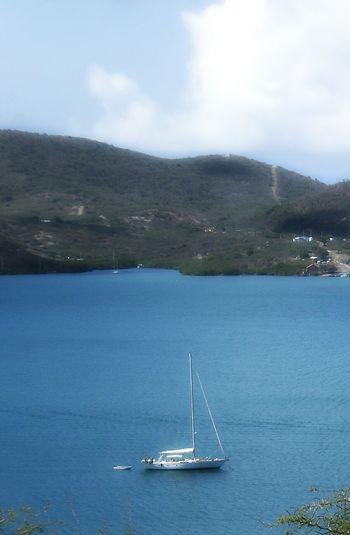 Sail , Sail Boat , Sail Away, Sail Away ! at Isla Culebra ,Puerto Rico