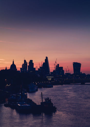 Sunrise London LONDON❤ London St Paul's Cathedral Architecture Building Exterior Built Structure City Cityscape Day Nature Nautical Vessel No People Outdoors River Sky Skyscraper Sunrise_sunsets_aroundworld Sunset Transportation Travel Destinations Urban Skyline Water Waterfront