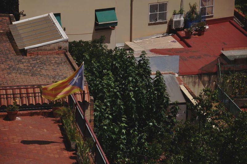 Catalunya Outdoors Day Flag Catalonia Barcelona Catalonia Is Not Spain