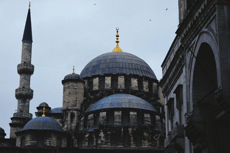 Mosque Istanbul #turkiye Eminönü Old Buildings
