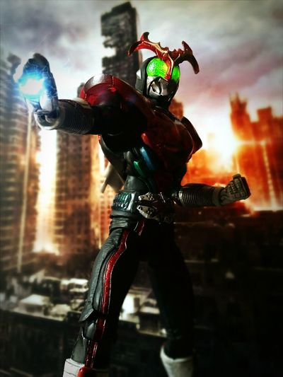 Kamen Rider Stronger Toy Photography Super Imaginative Chogokin Showa Era Tamashiinations Action Figures BANDAI Kamen Rider Stronger Toys Tokusatsu