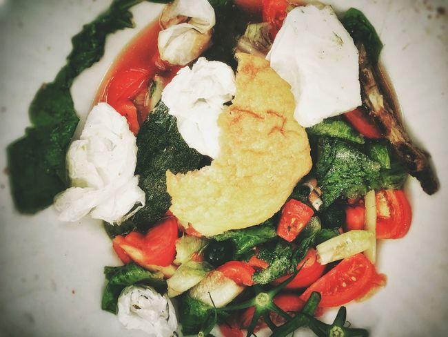 My World Of Food Semi Vegan Smoked Salad Enjoying The Sun Salad First Eyeem Photo