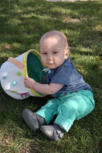 Family Easter EyeEm Selects Full Length Grass Child Childhood One Person Portrait Cute Innocence Baby