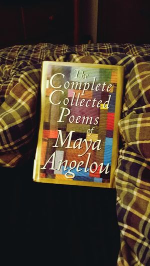 library books Maya Angelou Poetry Collection Library Book Nighttime Reading & Relaxing Reading Multi Colored Communication Text Variation Close-up Western Script EyeEmNewHere