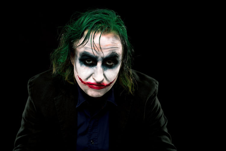 Batman Clown Comic Dark Knight Face Halloween Joker Joker Smile Jokerface Low Key Low Key Photography People Portrait Studio Why So Serious? TCPM Break The Mold