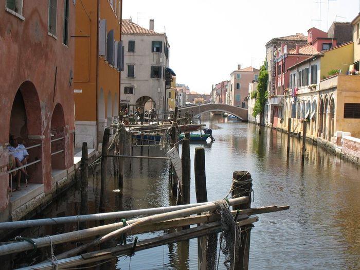 Choggia Italy❤️ Built Structure Building Exterior Architecture Water Canal Nature Building Bridge Tourism