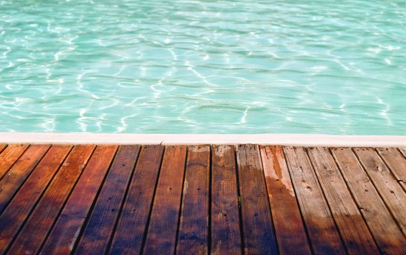 Naples Italy EyeEm Filmphotography Water Swimming Pool Pool Day Wood - Material High Angle View Nature No People Poolside Summer