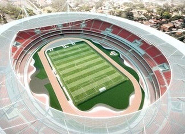 Projeto do morumbi pra 2014 Architecture SPFC Sport Soccer