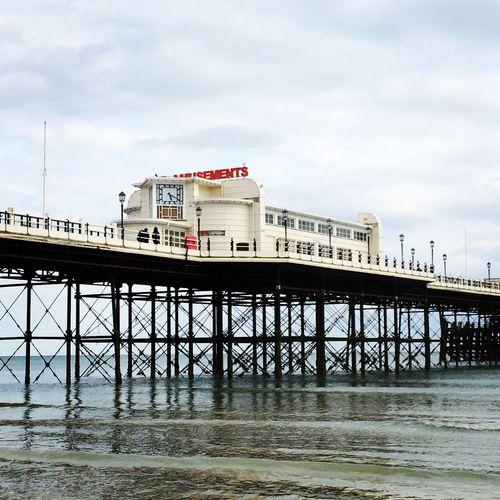 Worthing Worthingpier Sea Reflection Pier Sky Beach Seaside Sea And Sky Showcase April