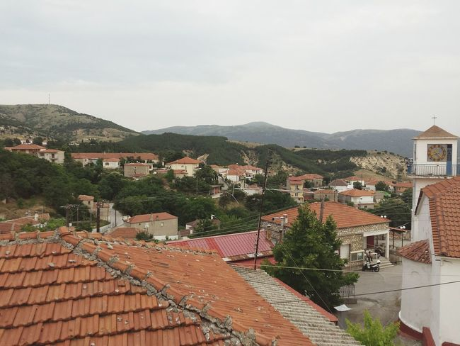 From The Rooftop View From The Top Visiting Little Village in Μεταξας Ελλάδα