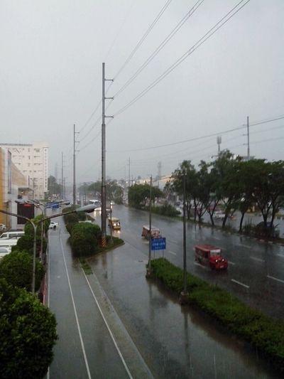 Raining Antipolo City Marcos Highway Jeepney Eyeem Philippines Earlier